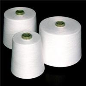 20/2-60/2 100 Percent Spun Polyester Yarn Raw White Evenness with Virgin Fiber