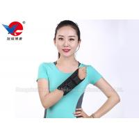China Medical Aluminum Alloy Wrist Support Brace Black Air Permeable  For Left And Right wholesale