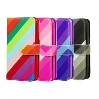 China Colorful PU Custom Made Samsung Galaxy Phone Cases With Card Pocket wholesale
