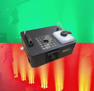 China 1500w LED Rgb Smoke Machine Remote Control DMX Fogger Machine for Wedding wholesale