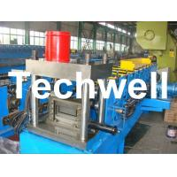 China 12 Forming Stations PLC Control System U Shape Roll Forming Machine for Steel U Purlin wholesale