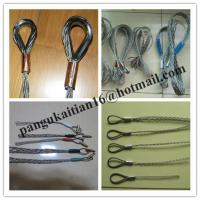 China Double-head, single strand Cable grip,Cable socks,Pulling grip,Support grip wholesale