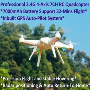 Quality 2.4G 7CH Headless Predator RC Quadcopter Drone 32-Mins Flight & Inbuilt GPS One for sale