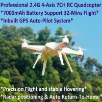 China 2.4G 7CH Headless Predator RC Quadcopter Drone 32-Mins Flight & Inbuilt GPS One-Key Return wholesale