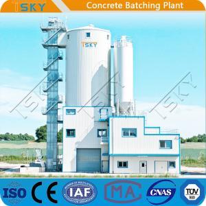 China AC 380V 50HZ 240m3/h HLS240 Tower Batching Plant wholesale