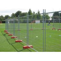 China Safety Removable Steel Temporary Fencing 0.9x2.0 Meter Easily Assembled wholesale