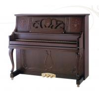 China 125cm First Class Imported Walnut Wooden Acoustic Upright Piano Excellent Handcraft OEM AG-125Y2 wholesale