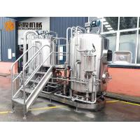 China Semi Automatic Stainless Steel Beer Brewing Equipment , Micro Brewery Equipment wholesale