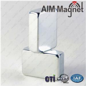 China 10 x 10 x 5mm thick N35 Neodymium Magnet block on sale