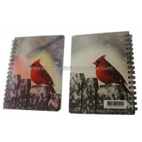 Quality Office PET/PP 3d Lenticular Image Jotter A5/A6 Size 3d Animal Pictures for sale