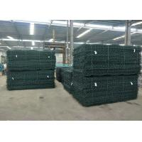 China PVC Coated Galvanized Reno Gabion Mattresses 6*2*0.3m Used In Rivers protection wholesale