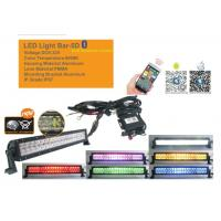 China 50 Inch RGB Car Light Bar With Bluetooth App 5D Projector Lens Combo Beam wholesale