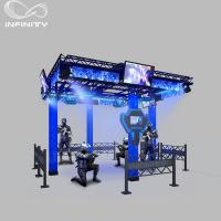 China 2019 Trend VR Shooting Simulator Walking Space Multiplayer Platform with HTC Vive wholesale