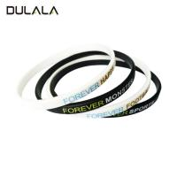 China Spain hot sale 5mm width silicone bracelet/ wristband for sale wholesale
