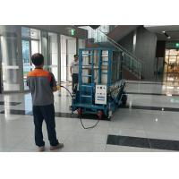 Buy cheap Hydraulic 18m Platform Height Multi Mast Mobile Elevating Work Platform from wholesalers