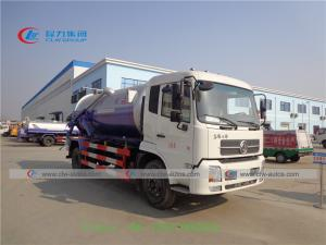 China Dongfeng Tianjin 4x2 4x4 LHD Vacuum Sewage Suction Tanker Truck wholesale