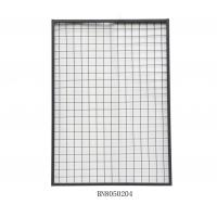 China Warehouse Steel Mesh Pallet Rack Back Guard 2 Inch X 2 Inch 1125mm Wide 700mm High wholesale