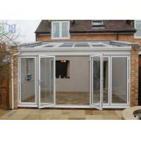 China Customized Aluminium Frame Greenhouse Patio Enclosure Designs For Garden wholesale