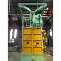 China Overhead Rail Hook Shot Blasting Machine High Efficiency For Oil Tank Propane Tank wholesale