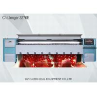 China 3.2m Industrial Large Format Solvent Printer , Challenger 3276E Flex Banner Printing Machine wholesale
