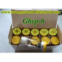 China Injectable Muscle Mass Gaining Peptide Ghrp-6 Human Peptides Growth Hormone Releasing Hexapeptide on sale