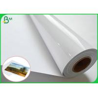 China 3 Inch Of Core Satin And High Glossy Art Paper RC Photo Paper For Pigment  Ink wholesale