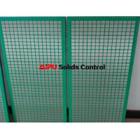 Quality API stadard Shaker screen replacement for oil and gas well drilling mud shaker for sale
