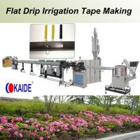 China Flat Drip Irrigation Pipe Making Machine 180m/min wholesale