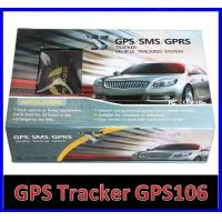 Quality GPS106 Car Auto Taxi Truck Fleet GPS GSM Tracker W/ Photo Snapshot & Online GPRS for sale