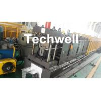 China 0-15m/min Forming Speed Cold Roll Forming Machine For Making Top Hat Channel , Furring Channel wholesale