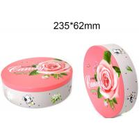 China Round Hinged Altoid Case Food Packing Boxes Empty Mint Tin Cans Long Lifespan wholesale