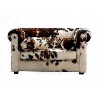 China Leopard Print Winter Warmth Sanding Hotel Room Sofa Set For Living Room wholesale