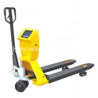 China Low Profile Hand Pallet Truck With 55mm And 36mm Min Lifting Height PTM10L on sale