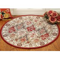 China Living Room Persian Rug Modern Design , Round Persian Carpet Dry Quickly wholesale