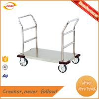 China factory direct supply wholesale stainless steel platform trolley with heavy duty Kunda A-033 on sale