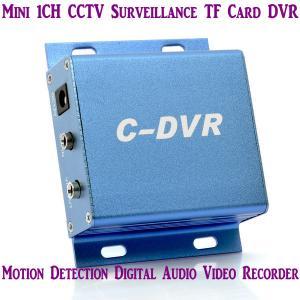 Quality Mini C-DVR 1CH CCTV Surveillance TF Card DVR Digital Audio Video Recorder Motion for sale
