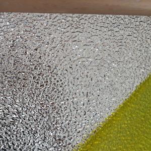 China Lamp Panel 0.4mm Mirror embossed Aluminum Sheet For Luminaries Industries wholesale