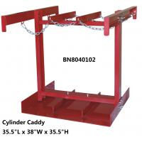 """China Steel Compressed Gas Cylinder Stands , Gas Tank Storage Rack 7 To 9.5"""" Diameter wholesale"""