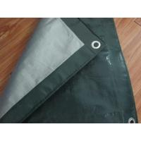 China Outdoor canvas curtain fabric,PE tarpaulin sheet, poultry barton roof door poly tarps wholesale