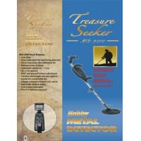 Underground treasure hunter discriminator metal detector for coins , relics , jewelry