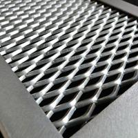 China Diamond Expanded Wire Mesh Plate Galvanized Painting Aluminum Light Weight wholesale