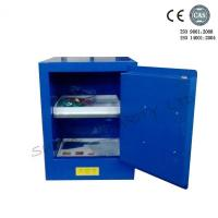 China Blue Metal Corrosive Storage Cabinet / Hazardous Storage Cupboards 30 Gallon wholesale