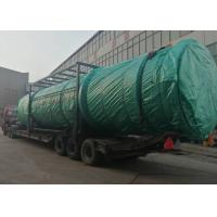 Buy cheap Sticky Chemical Sludge Drying System , Rotary Drum Dryer Machine 30kw Power from wholesalers
