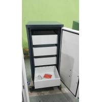 Quality White Anti Magnetic Cabinets Fireproof , Secure Filing Cabinet 6 Drawer For CD for sale