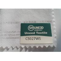 China Circular Knit Stretch Interlining Material C5027WS With Double Dot PES Coating wholesale
