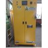 China Flame Proof Hazmat Storage Cabinets Single Door For Cylinder / Paint / Chemical Acid Alkai resistant wholesale
