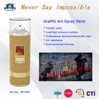 China OEM Art Graffiti Spray Paint with Advanced Formula and Professional Valve System wholesale