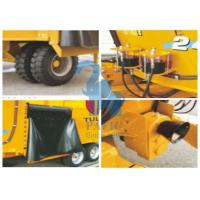 China Electronic Animal Feed Mixer Mobile Equipment With Serrated Cutting Knives wholesale
