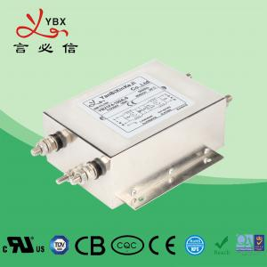 China 50/60Hz Low Pass Power Supply Noise Filter 50A 250V 440VAC For Machine wholesale