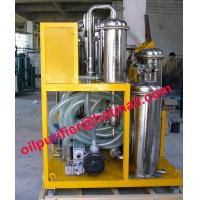 China Multi-function Vacuum Degassing Demulsifying hydraulic Oil Purifying filtering Plant wholesale